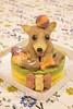 Your dog figure cake (INUGOHAN_WORLD) Tags: food dog chihuahua cooking dogs cake recipe healthy homemade poodle foodart toypoodle dogcake cakeclass homemadedogfood dogsweets dogrecipe homemadedogcake figurecake dogrecipes