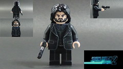 Custom LEGO John Wick Chapter 2: John Wick Minifigure (Will HR) Tags: