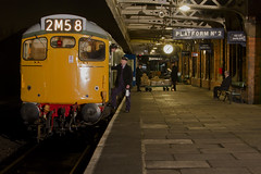 IMG_1133-D5401 (Roger J Brown) Tags: green blue transition era newspapers mail offloaded loughborough emrps photo charter evening wednesday 25th february 2015 gcr roger brown canon 7d sigma heritage railways steam