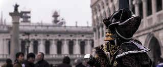 Cinematic View, Carnival in Venice (Italy)