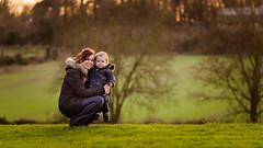 Mummy & Ryan @ Sunset (James W Atkins) Tags: sunset wallerpark park field sun set golden hour goldenhour tress boy toddler mum mummy wife photoshoot photography nikonsir nikond5100 tamron85mm glow gold dartford darenth
