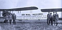 1st Anniversary of Air Mail Service - May 19, 1919 LOC18659u (SSAVE over 10 MILLION views THX) Tags: airmail jenny firstanniversary usps unitedstatespostalservice 1919 washingtondc bollingfield