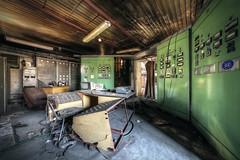 No control! (Michal Seidl) Tags: abandoned heating plant factory industry opuštěná teplárna kotelna továrna fabrika hdr urbex czech