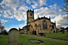 St Peters church...Barnburgh. (A tramp in the hills) Tags: church barnburgh catandmanstory southyorkshire doncaster