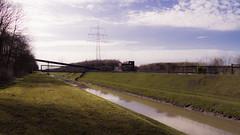 Emscher (frankdorgathen) Tags: nature grass lawn spring light sun outdoor industry ruhrgebiet gelsenkirchen nordsternpark canal water rheinhernekanal