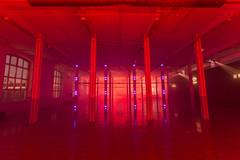 _MG_0604 (Playmodes Interactive Audiovisuals) Tags: playmodes studio light lightart led leds mira festival barcelona fabra coats 2016 colors installation openframeworks madmapper