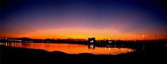 Rayos Crepusculares en el Río Nazas. (jerodamor@yahoo.com.mx) Tags: ocasos ríonazas torreón coahuila gómezpalacio durango méxico greatphotographers autofocus
