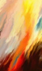 Inferno (Matt Lindley) Tags: streaks smear reds yellows browns oranges flames smoke digitaloil abstract