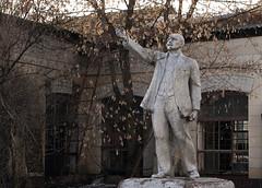 Lenin Lived, Lenin Lives, Lenin Will Live! - V. Mayakovsky (I g o r ь) Tags: abandoned decay decayed rust urban forgotten lostplaces urbanexploration lenin ussr cccp sovietunion ленин communism sonya7 ilce7