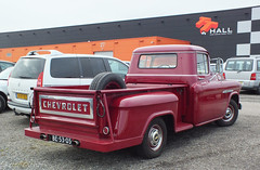 1955 Chevrolet 3200 Pick-up (peterolthof) Tags: peterolthof assen be5305 chevrolet 3200