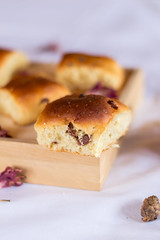 Brioche (mj.cs) Tags: yummy dulce sweet candy hornear baking postre desayuno breakfast brioche bollo repostería sugar azúcar table mesa diy homemade nikon