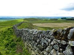 Hadrian's wall, Northumbria 2015. (petebond_au) Tags: britishwalks britain northumbria romanarcheology barbarians romanempire hadrianswall