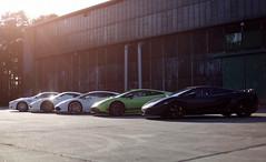 Line up (Thomas_982) Tags: cars auto italy line up lamborghini ferrari aston martin