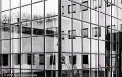 Architecture in Drachten (Martin Bouwman) Tags: architectuur architecture streetphotography house building cityhall refelction