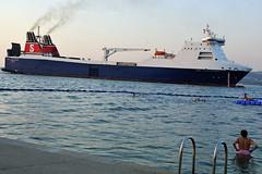 Shipping in Koper (rlubej) Tags: boatsships primorska sea people