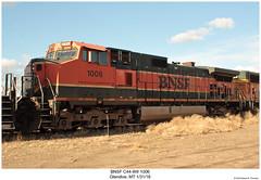 BNSF C44-9W 1006 (Robert W. Thomson) Tags: bnsf burlingtonnorthernsantafe ge diesel locomotive sixaxle dash9 dash944cw c449 c449w train trains trainengine railroad railway glendive montana