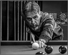 MOI (cdn.slacker) Tags: pool billiards blackandwhite