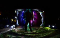 IMG_7509aa (matek 21) Tags: lightpainting longexposure lp liht lightpaintingvideo lighpainting varta vartabatteries vartaflashlight graffiti silhouete design light painting lpd longoexposure canon can eos samyang flashlight fisheye mateuszkrol mateuszkról malowanieświatłem
