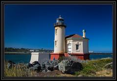 Coquille Lighthouse (Rick-Willis) Tags: horizontal ononesoftware oregon usa