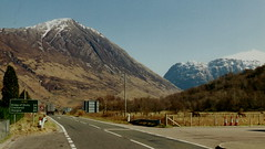 A82 at Glencoe Village (J_Piks) Tags: road scotland a82 glencoe bideannambian