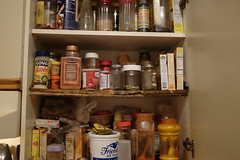 Cabinet of Food Magic (dilahk) Tags: spices spicerack