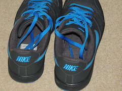 worn trainers (stevsoll) Tags: shoes sneakers trainers nike worn daps