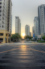 BGC Shoot 2013 (Jaydee Pan (Stopped for a while)) Tags: city sunset canon cityscape sigma 1020 hdr lightroom bgc fortbonifacio photomatix 60d