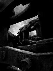 ~THE CIRCULAR RUINS~ J.L. Borges (Jorge Daniel Segura) Tags: old sky urban blackandwhite bw art monochrome mobile metal digital fantastic industrial arty artistic outdoor metallic modernart surrealism sticky magic digitalart dream chainsaw machine cellphone dramatic surreal manipulation monochromatic literature machinery artsy smartphone fantasy writers processing imagination dreamy drama surrealistic symbolic jorgeluisborges digitalphotography hypothetical digitalmanipulation borges iphone artisticphotography exteriors magicrealism shortstories postprocessing mobileart vividimagination artdigital mobilephotography cellphonography monochromie iphonography iphoneart iphoneography exoticimage netartii latinamericanboom ofportalsandparallelworlds