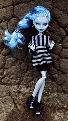 Monster High ooak Ghoulia Yelps doll (i1473) Tags: summer doll dolls custom fashiondoll ghoul repaint reroot customdolls 2013 acryliceyes ghoulia monsterhigh ghouliayelps monsterhighdolls lumixgf2 monsterhighcustom gholiayelps olgafalkova