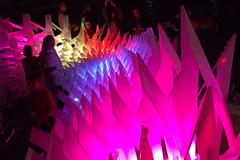 In pink (Val in Sydney) Tags: light festival rocks sydney vivid australia nsw australie