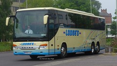 Lodges Coaches BN58AJU (Joe (Norwich Bus Page)) Tags: coaches nbp lodges setra norwichbuspage bn58aju