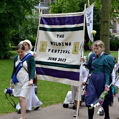 2013-06-15: Festival Banner (psyxjaw) Tags: london festival march women suffrage russellsquare wilding londonist suffragettes