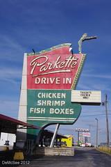 Parkette Drive In - Lexington, KY (DEMcSee) Tags: old sign neon lexington kentucky ky