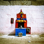 A little shrine (India)