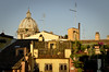 Room with a view on San Andrea della Valle (Agnieszka Eile) Tags: city roof italy rome church architecture buildings europe dome sanandreadellavalle