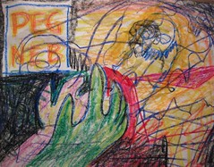 Then It Goes Out Into The World (giveawayboy) Tags: art tampa creativity sketch artist drawing dream crayon fch giveawayboy billrogers