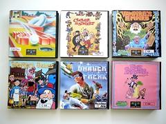 Magic Bytes etc... Games, C64 (zapposh) Tags: computer games retro gaming swap computing commie c64 trades comm usgold ariola