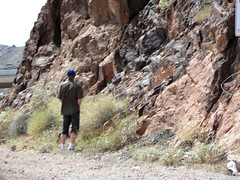 When You Gotta - (Gem Images) Tags: arizona people usa lake man standing dam nevada hoover mead visitors urinating