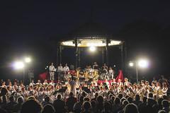 Corfu by night: The Band (sbouboux) Tags: summer people night square live band hellas greece corfu kerkyra fek spianada philarmonicsocietyofcorfu