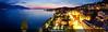 Montreux Riviera view (Chamelle Photo) Tags: street pink blue sunset summer vacation panorama lake holiday mountains alps night landscape lights golden schweiz switzerland scenery riviera view suisse dusk swiss lac panoramic tropical bluehour été paysage léman crépuscule montagnes montreux vaud swissriviera montreuxriviera chamellephotography