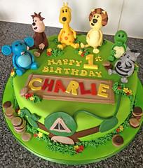 RaaRaa 1st Birthday Cake