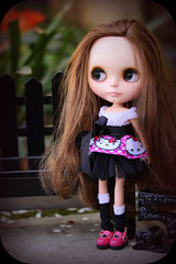 """Ruby Rapunzel ... in our """"Hello Kitty"""" controversy dress..."""
