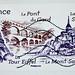 great french stamp France postage 77c € 0.77 visit France Visitez la France stamp poste-timbres Republique Francaise sellos selos Briefmarken porto franco francobolli selo França francobolli Francia sello 邮票 法国 yóupiào Fǎguó