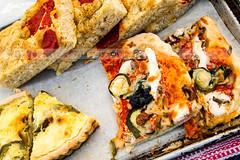 All The Essential Food Groups (marysmyth(NOLA13) ) Tags: urban food toronto dinner farmers market fresh pizza local organic quiche iwasluredbythecookiesatthenexttable