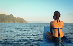 Turn around (misskutkut) Tags: sunset summer beach philippines coron palawan