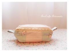 Porta-lápis da Verónica - romantique II (AnnCrafts Artesanato) Tags: vintage fabric tilda pencilcase portalápis necessaires vintagepurse