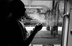 Ploiesti - Roumanie (Punkrocker*) Tags: street leica people film station 35mm gare kodak trix nb summicron 400 romania asph roumanie ploiesti m7 352 bwfp