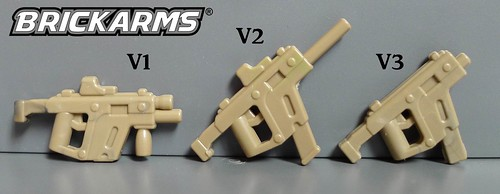BrickArms Vector SMG Prototypes