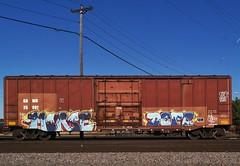 MORSE x DOTE (stateofoppression) Tags: minnesota train bench graffiti panel tag trains piece mn freight morse dote rollingstock benching minnesotagraffiti mngraffiti freightporn
