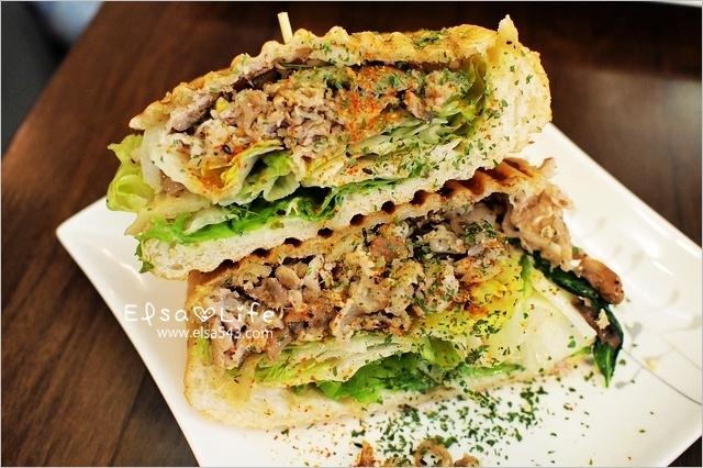 板橋早午餐.豐滿三明治